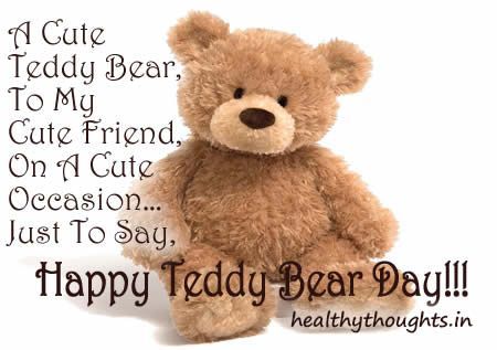 Cute love teddy bears quotes - photo#6