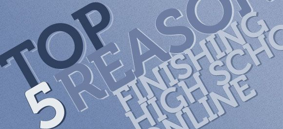 5 Reasons Finishing High School Online Could Be Right for your Child ()