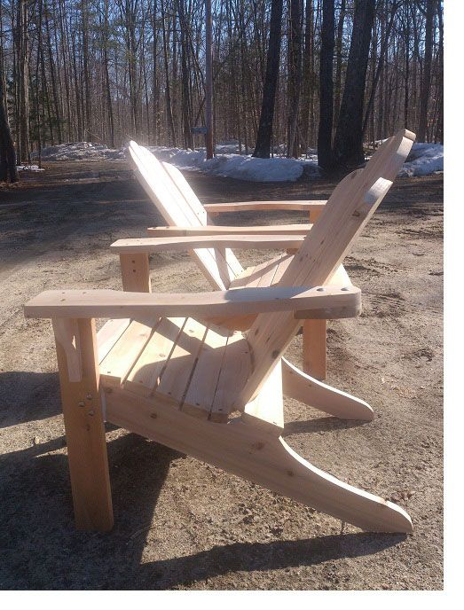 The tool list for these Adirondack chairs is short and sweet. And the plans are free! -Dan