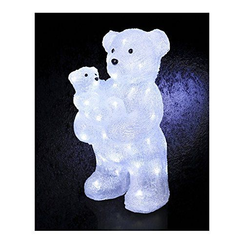 Lumineux Noel Et Lampes Effet Deco – Givré Ourson Led 56 Ours NnwkP0XZ8O