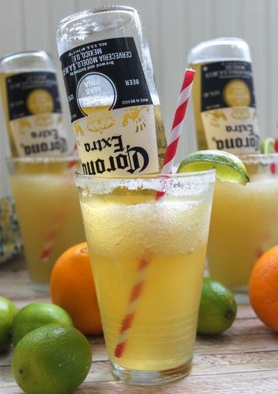 Frosty Mexican Bulldog Margarita: Leah and Peg...We need to try these!