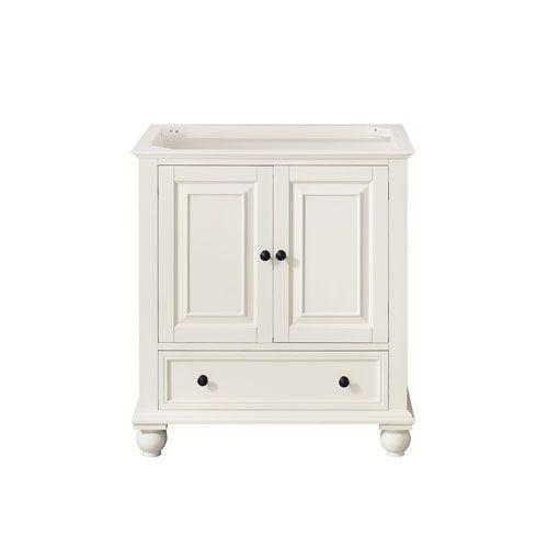 Thompson French White 30 Inch Vanity Only Avanity Vanities Bathroom Vanities Bathroom Furn