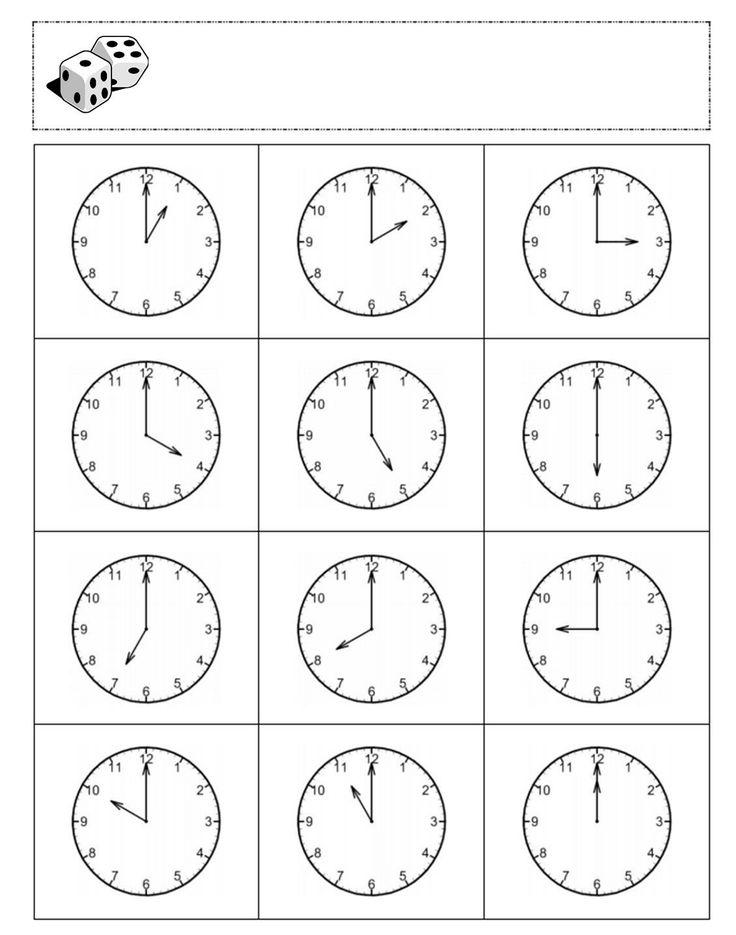 учим часы картинки