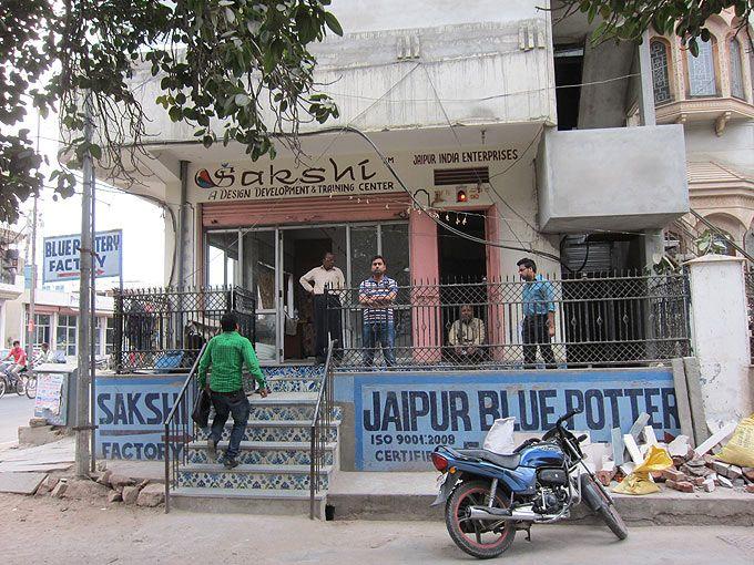 ジャイプルのブルーポッタリー工房に行ってきました   インド大好き!ティラキタブロ グインド大好き!ティラキタブロ グ