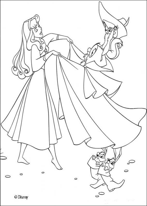 18 best Disney\'s Aurora Coloring Sheets images on Pinterest | Kids ...