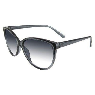 Women's Cat Eye Sunglasses - Gray, Size: Medium