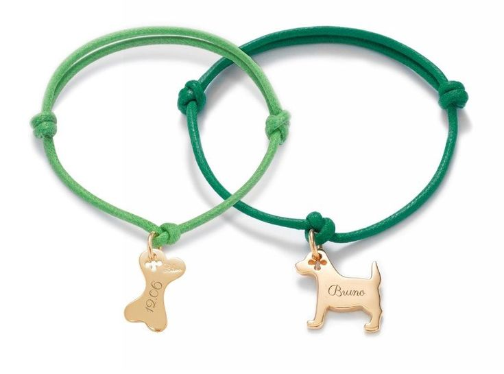 Create your souvenir with the bone and dog bracelets by Lilou! available in silver and gold-plated #lilou #bracelet #dog #bone #gift #souvenir #remember