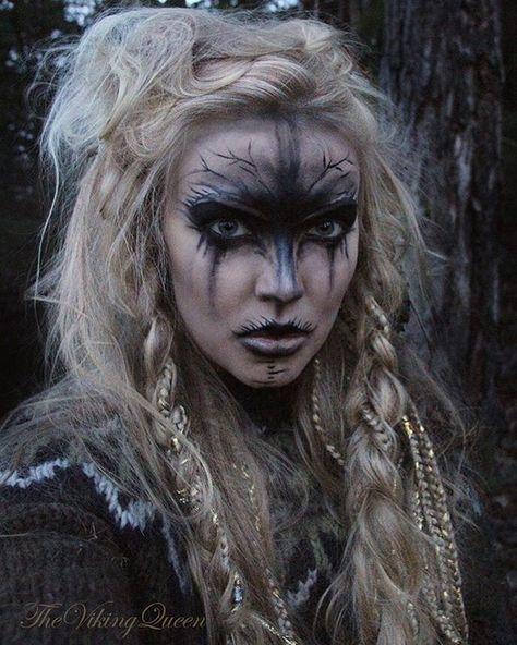 Hervorragend Plus de 25 idées uniques dans la catégorie Maquillage viking sur  AW33