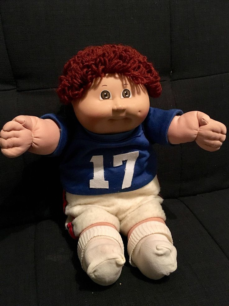 vintage cabbage patch kid doll 1982 / he would love a new playmate! In pristine condition! by fancydollhouse on Etsy https://www.etsy.com/listing/525433583/vintage-cabbage-patch-kid-doll-1982-he