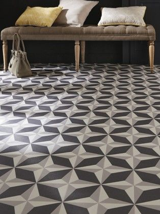 17 best ideas about lino sol on pinterest lino salle de - Dalle pvc imitation carreau de ciment ...