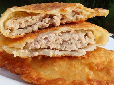 Chebureki - Hamburger Hot Pockets