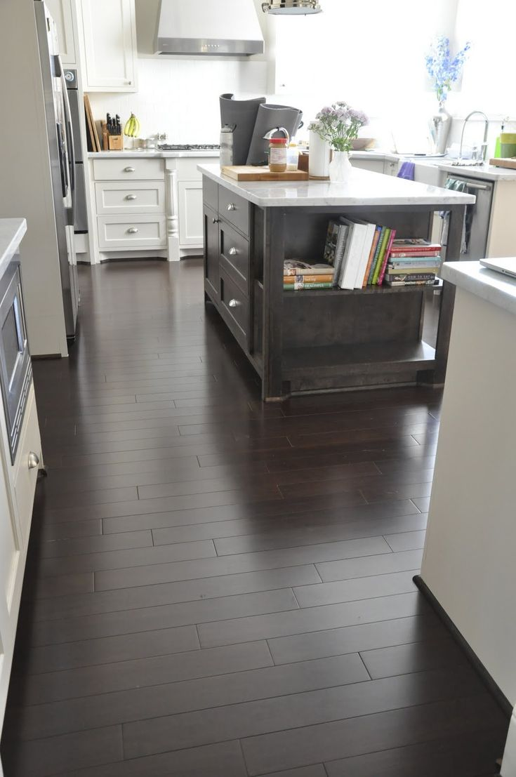 {pinned for the floor: dark bamboo=just what I want!} Honey We're Home: Deep Clean Fridays at Our House
