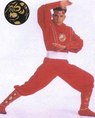 Rocky Red Ninja Ranger Power | Power Ranger Super Legends: Mighty Morphin