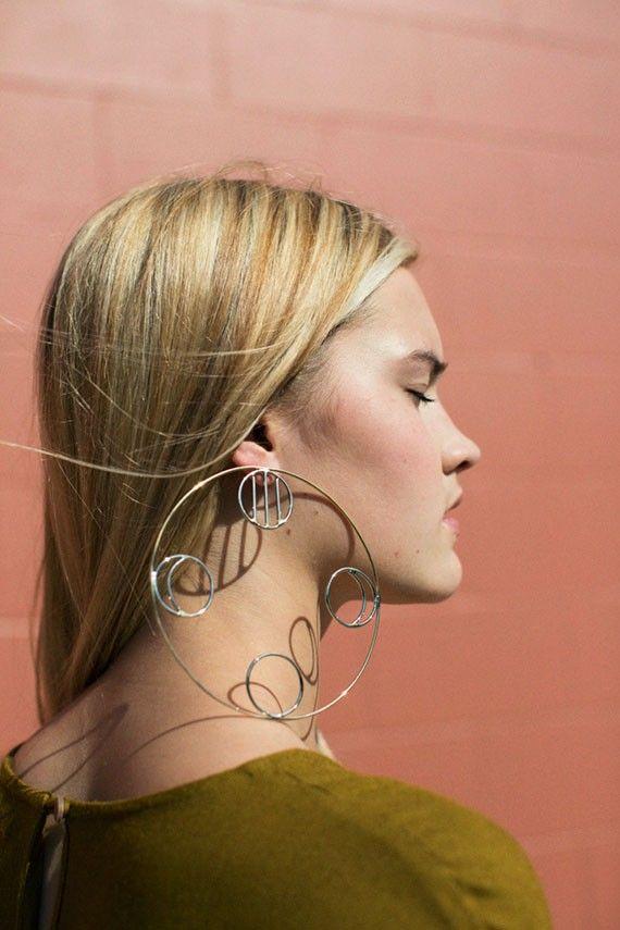 Anndra Neen - Stein Circle Earring | BONA DRAG