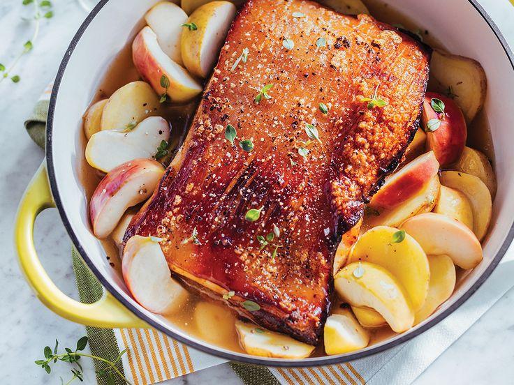 Cuisiner ensemble | Magazine SAQ : Le goût de partager  Braisé de porc au cidre