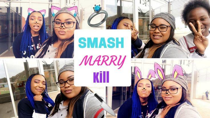 😝  SMASH, 💍  MARRY, 🔪 KILL! ♡ Nicole Khumalo ♡ South African Youtuber