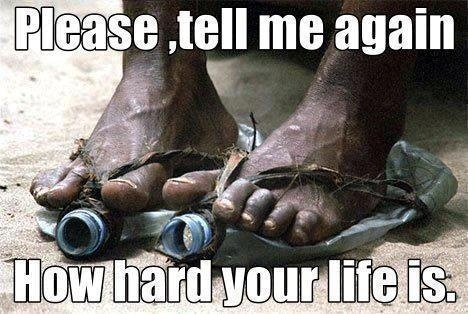 ... stop whining, be grateful