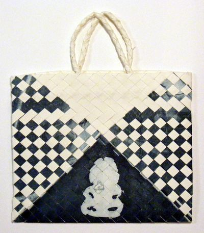 maori art vanessa edwards  tiki print weave