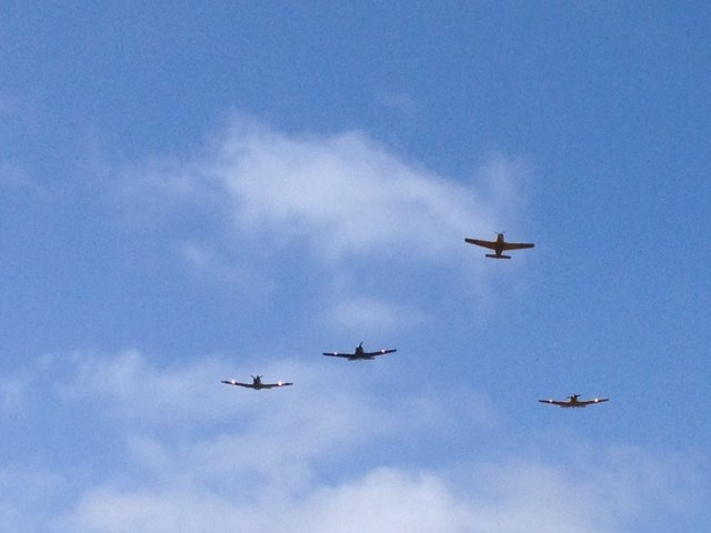 memorial day fly over los angeles