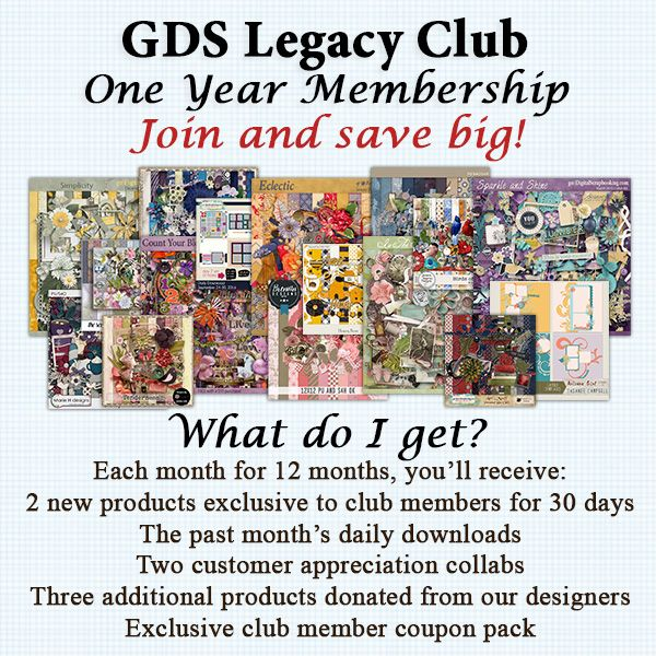 1 Year Legacy Club Membership