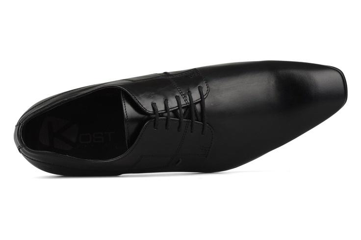 Krissa2 by Kost (Negro): entrega gratuita de tus Derbies Zapatos para hombre negros. Black shoes for men. Chaussures noir pour homme.  https://www.facebook.com/bagatelleoficial Bagatelle Marta Esparza #zapatos #negro #hombre