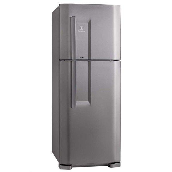 awesome Geladeira / Refrigerador Electrolux DC51X 475 Litros 2 Portas Cycle Defrost Inox 02515DBA189 281453