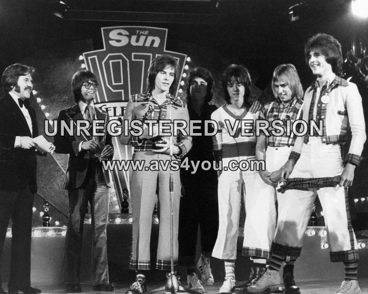 "Bay City Rollers 10"" x 8"" Photograph no 18"