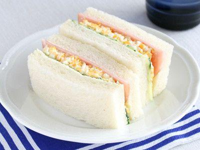 レンジで作る、お手軽たまごサンドイッチ  ©AllAbout  #お弁当 ©AllAbout