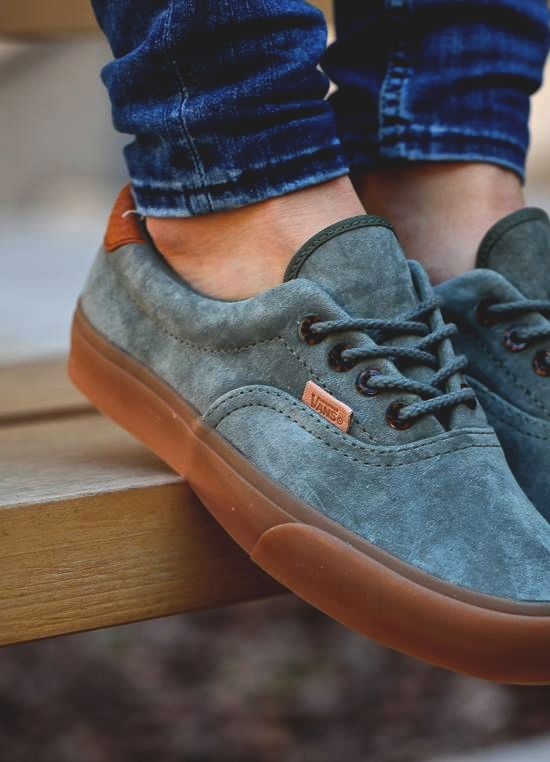 "unstablefragments: "" Vans Era 59 California Suede by Run Colors Buy it @ urbanoutfitters 