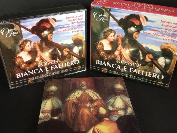 Rossini Opera Bianca E Falliero O Sia Il Consiglio Dei Tre 3 CD Set #Opera