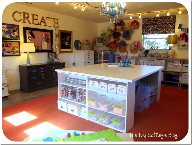 craft room- I want