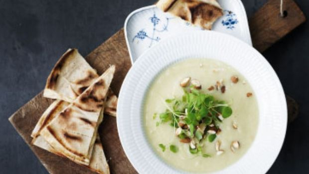 Blomkåls-porre-suppe med ostebrød | Femina
