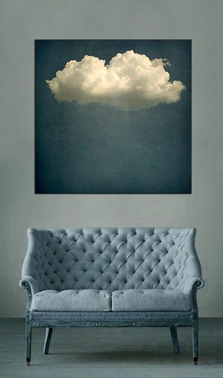 10 Beautiful Rooms... Clouds | Mad About The House - chessy welch art work