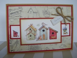 Home to Nest decoupage by: kks