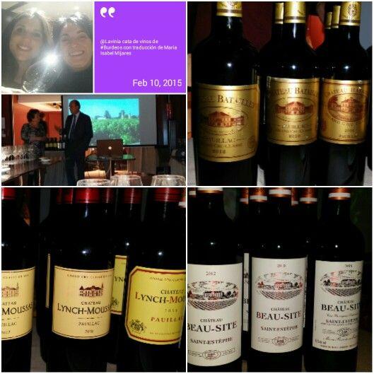 En Lavinia Cata de vinos de Burdeos