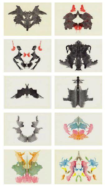 Test de Rorschach, Jacques Hurtubise