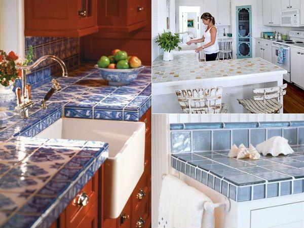Morandosemgrana bancada de azulejo dream house for Nova casa azulejos