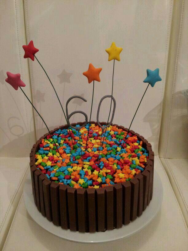 The 60th birthday cake