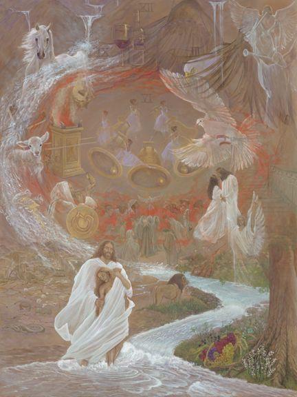 christian art, painting, prophetic art,