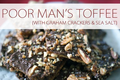 """I started seeing a lot of different versions of this """"poor man's toffee"""" last Christmas, and this year I decided to see what the hype was all about. In short, this is one of those super easy last-minute treats to throw together, and the great thing about it is you can really customize it however …"""
