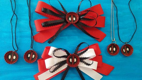 Deadpool Accessories by NotoriousNikkiArt on Etsy