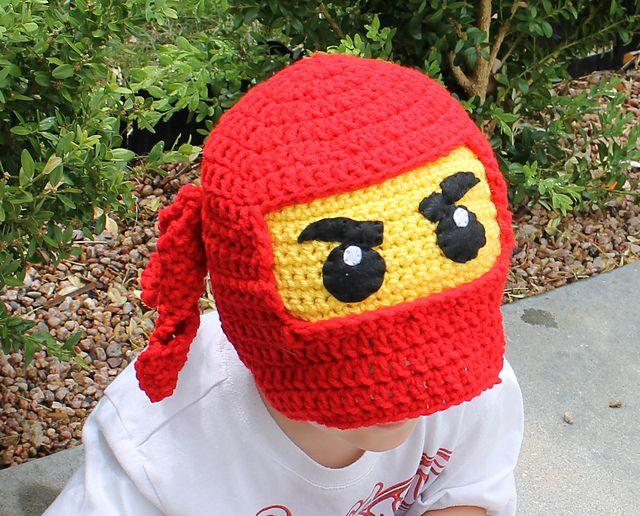 Ravelry: Ninjago Hat pattern by Knitty Momma