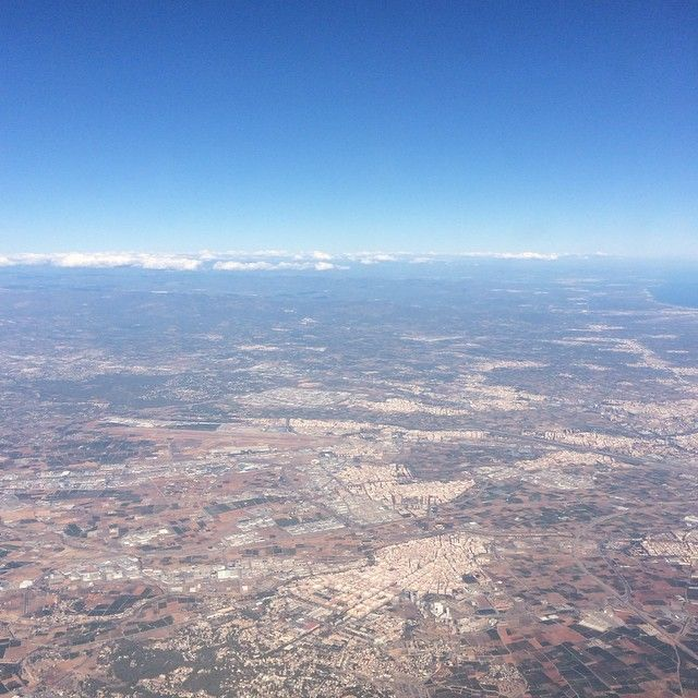 Sorvolando #Valencia ✈️ - Flying