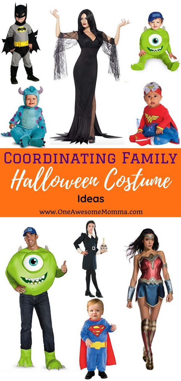 Coordinating Family Halloween Costume Ideas You Must Try This Year | Pinterest  sc 1 st  Pinterest & Coordinating Family Halloween Costume Ideas You Must Try This Year ...