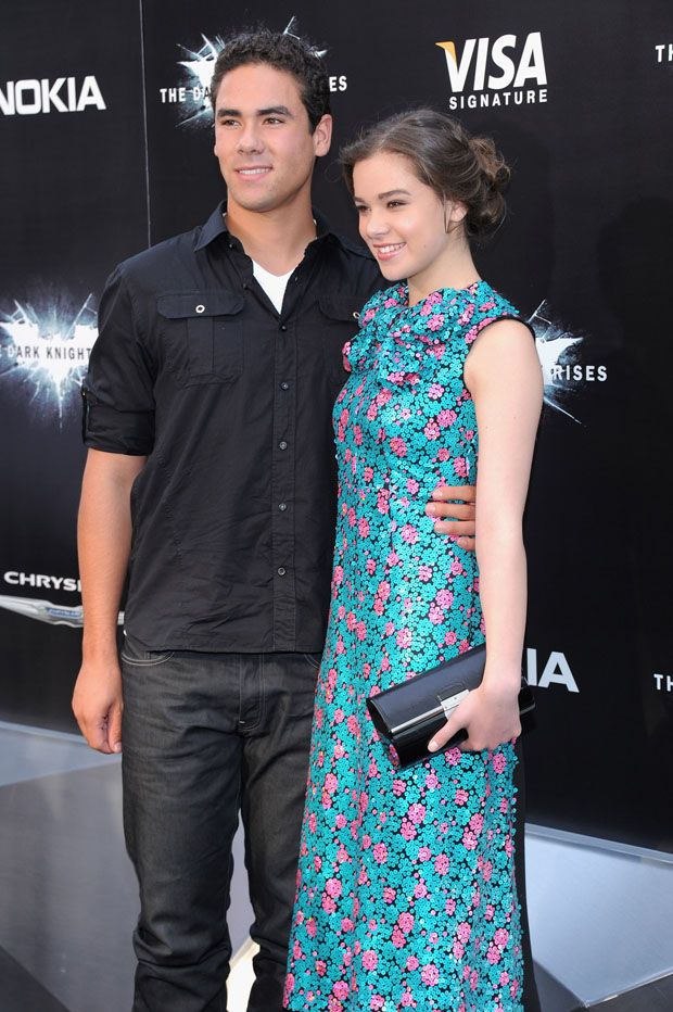 Griffin Steinfeld and Hailee Steinfeld - 'The Dark Knight Rises' New York Premiere