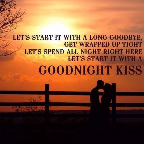 Goodnight Kiss -Randy Houser LOVE!  Little Bit of Country  Pinterest  Love...