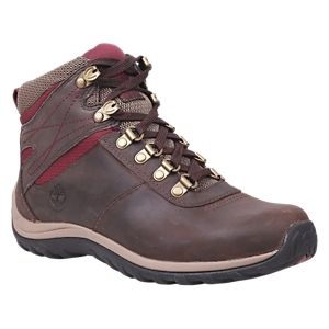 Timberland Norwood Mid Waterproof Hiking Boots for Ladies - Dark Brown - 5.5
