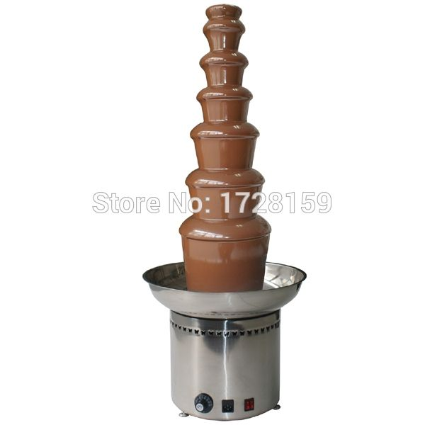 Hot Sale commerical use 7 tiers Stainless steel 304#  Chocolate Fountain Machine Choco Tree EU Standard