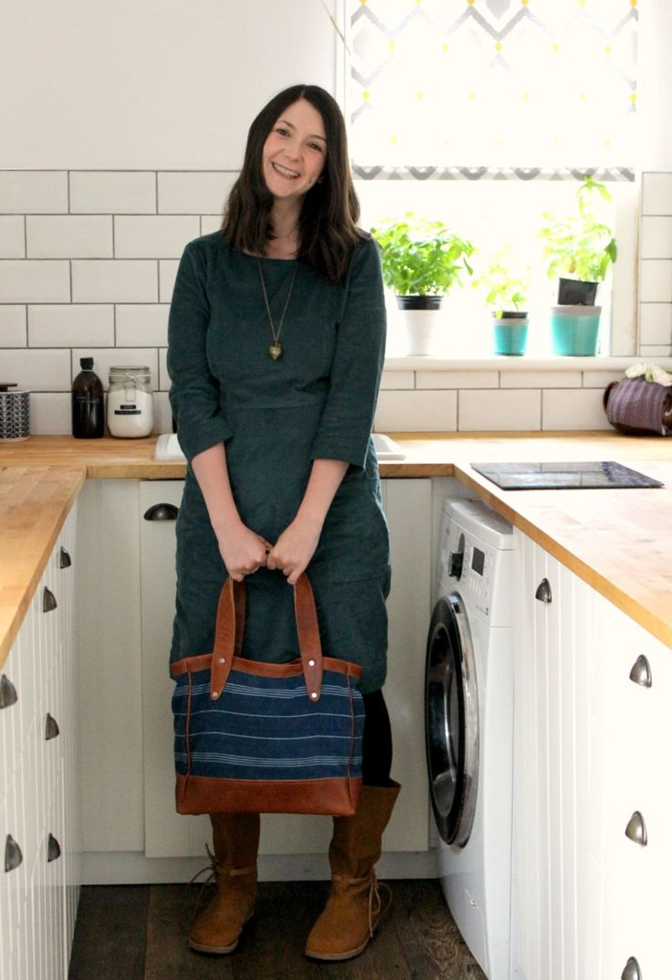 Our Quetzal Tote looking great on Wendy from Moral Fibres!  Read what she says about this go-to bag :)