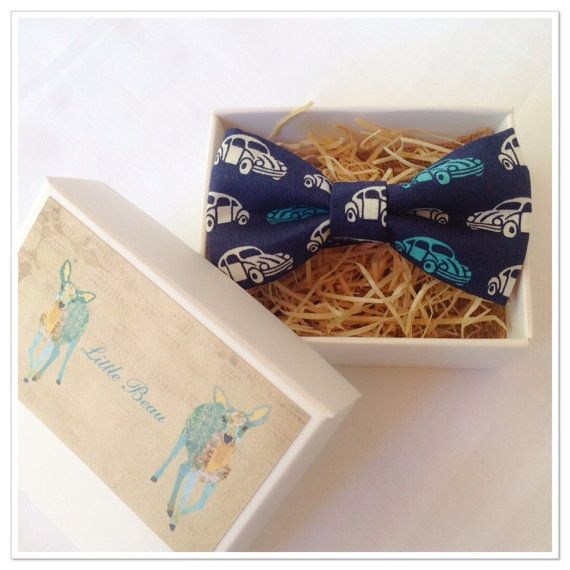VW Boys Bow Tie by MyLittleBeau on Etsy $29.00